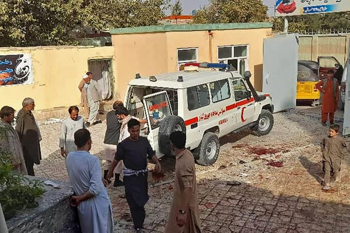 Shiialaiseen moskeijaan tehty isku on tappavin sen jälkeen, kun Yhdysvaltain joukot vetäytyivät maasta elokuun lopussa. Lehtikuva/AFP