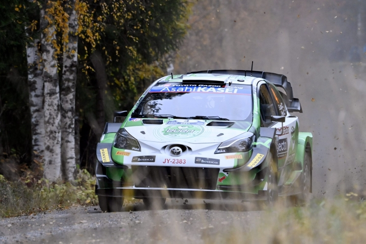 Esapekka Lappi palaa Toyota-talliin rallin MM-sarjassa ensi kaudella. LEHTIKUVA / Jussi Nukari