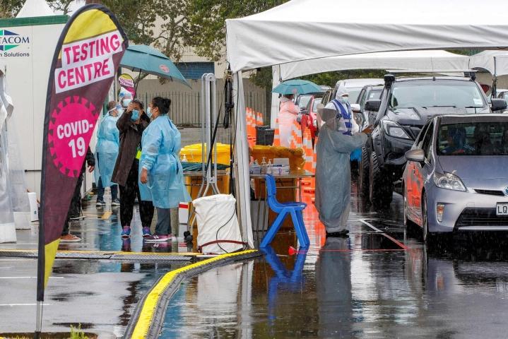 Uusi-Seelanti on tiukkojen rajarajoitusten ja koronasulkujen ansiosta selvinnyt pandemiasta hyvin vähällä. LEHTIKUVA/AFP