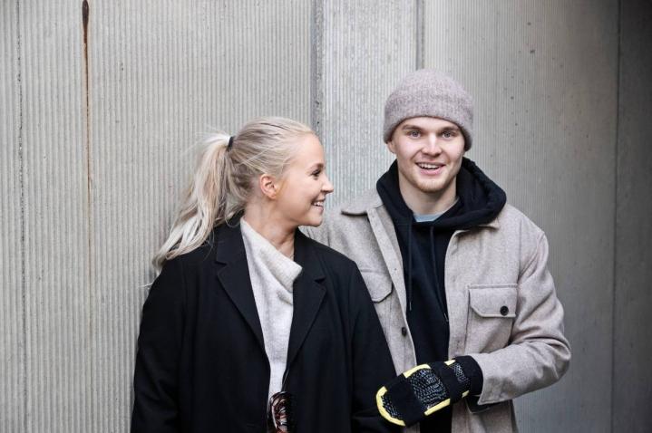 Vera Mäkelä ja Saku Vesterinen ehtivät jälkimmäisen pahan loukkaantumisen myötä viettämään enemmän yhteistä aikaa.