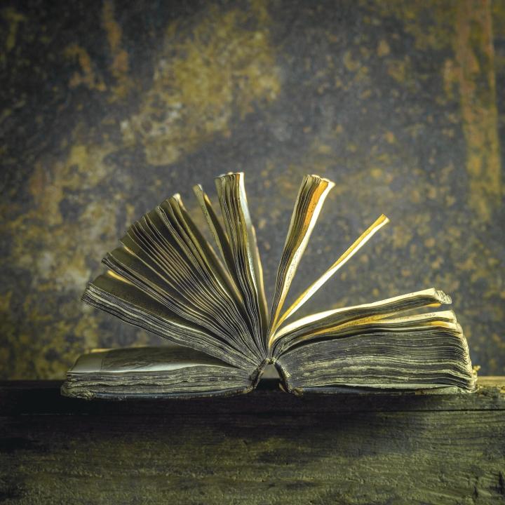 Kirja vertautuu henkiolentoon, joka uhmaa ajan hammasta, yhdistää ja suojelee ihmiskuntaa.