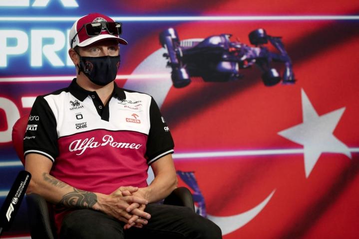 Räikkönen voitti ensi viikonloppuna ajettavan Turkin gp:n jo vuonna 2005 McLarenilla. LEHTIKUVA/AFP