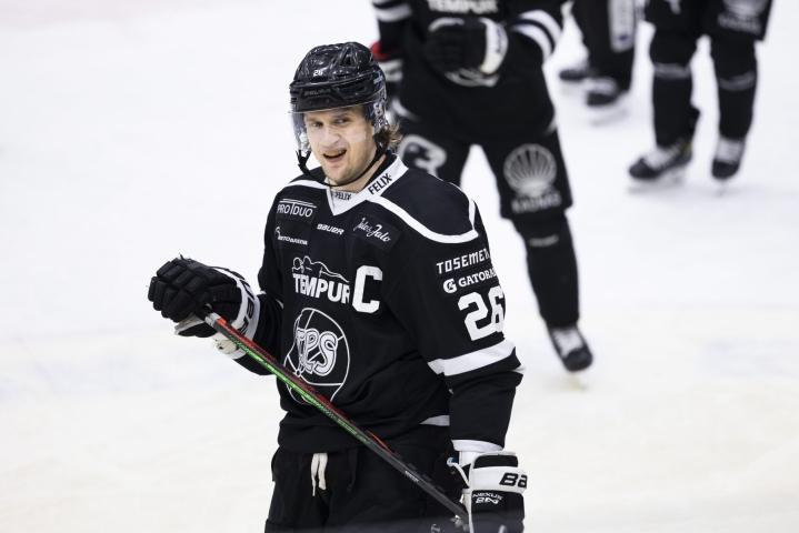 Lauri Korpikoski kävi alkuvuodesta lonkkaleikkauksessa. Kuva on viime vuoden lokakuulta. LEHTIKUVA / Matias Honkamaa