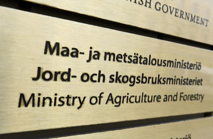 Maa- ja metsätalousministeriön näkemyksen mukaan valmistelussa on painotettu monimuotoisuusasioita muun muassa elinkeinojen harjoittamisen ja maanomistajan oikeusturvan kustannuksella. LEHTIKUVA / VESA MOILANEN
