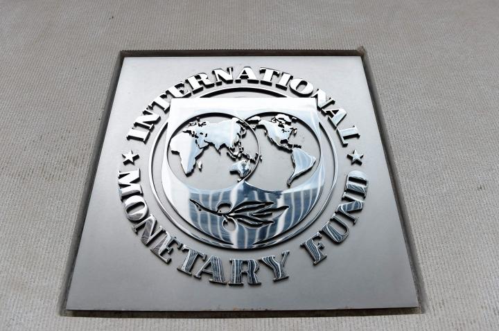 IMF:n talouskatsauksen mukaan talouskasvun hyvä kokonaistilanne kätkee joidenkin maiden heikon kehityksen. LEHTIKUVA / AFP