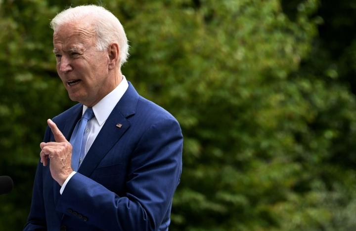 Valkoisen talon verkkosivuilla kerrotaan, että presidentti Joe Biden kertoi aikoo ehdottaa Douglas Hickeytä Yhdysvaltain uudeksi Suomen-suurlähettilääksi. LEHTIKUVA / AFP