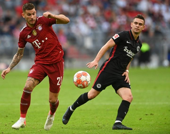 Eintracht Frankfurt haki Baijerista 2–1-voiton. LEHTIKUVA/AFP