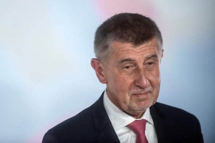Suurinta saalista ennustettiin nykyiselle pääministerille, 67-vuotiaalle Andrej Babishille. Lehtikuva/AFP