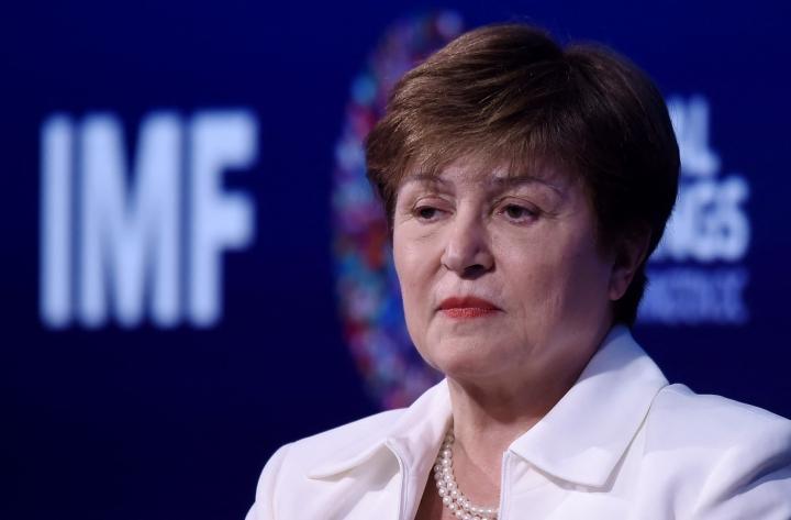 Georgievan on väitetty Maailmanpankin johtotehtävissä toimiessaan painostaneen muuttamaan Kiina-arvioita myönteisemmiksi. LEHTIKUVA/AFP