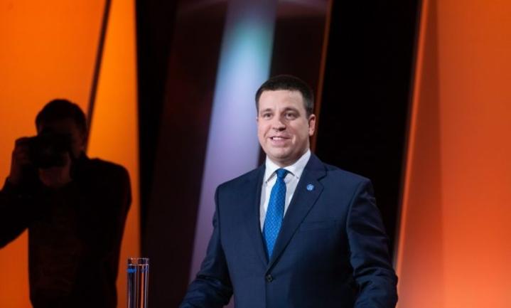 Viron pääministerinä jatkaa mahdollisesti keskustan Jüri Ratas. LEHTIKUVA / RAUL MEE