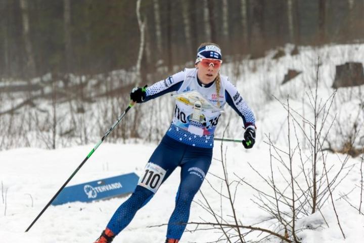 Salla Koskelan arvokisamitalien kokoelma ei täydentynyt Viron MM-kisoissa.