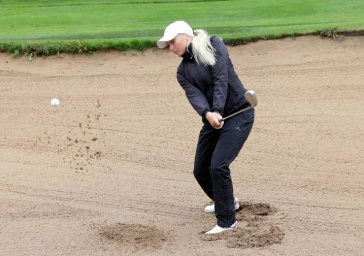Karelia Golfin Emilia Tukiainen pelaa seuraavaksi Euroopan haastajakiertueen kisassa.
