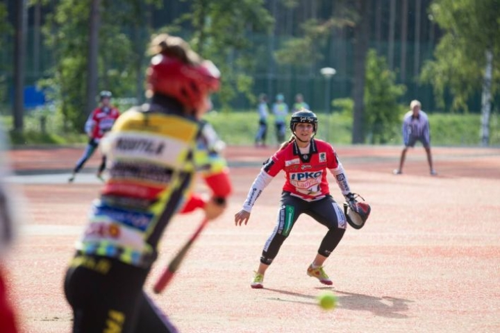JoMan Iida Nupponen oli yksi ottelun sankareista.