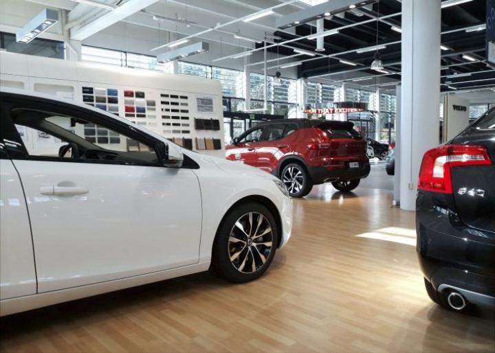 Hallitus linjasi elokuun budjettiriihessään, että ajoneuvoveroa kevennetään 50 miljoonalla eurolla vuonna 2020.  LEHTIKUVA / TIMO JAAKONAHO