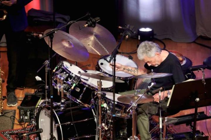 Steve Gadd esiintyi Joensuussa viime sunnuntaina.