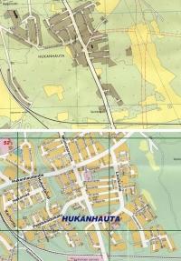 Muuttunut kaupunkikuva: Hukanhauta
