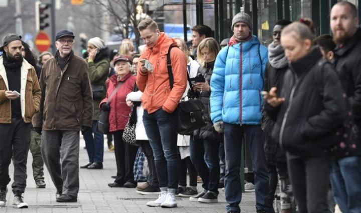 Aluekehittämisen konsulttitoimisto MDI:n maaliskuussa julkaiseman väestöennusteen mukaan väkiluku kasvaa vuoteen 2040 mennessä vain Uudellamaalla, Pirkanmaalla, Varsinais-Suomessa ja Ahvenanmaalla. Muualla väki vähenee. LEHTIKUVA / HEIKKI SAUKKOMAA