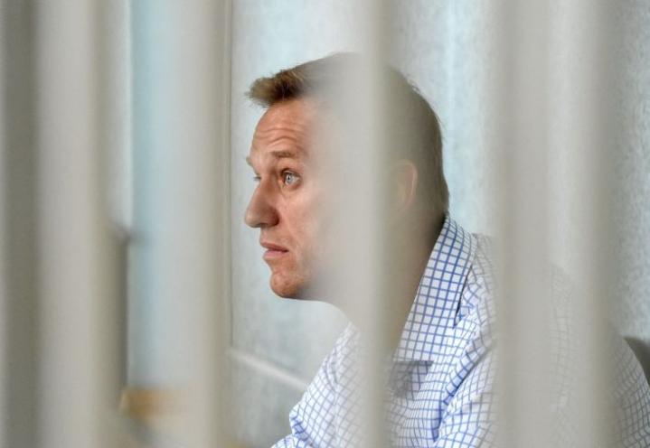 Navalnyi on ollut syömälakossa liki kolme viikkoa saadakseen parempaa lääkärinhoitoa. LEHTIKUVA/AFP