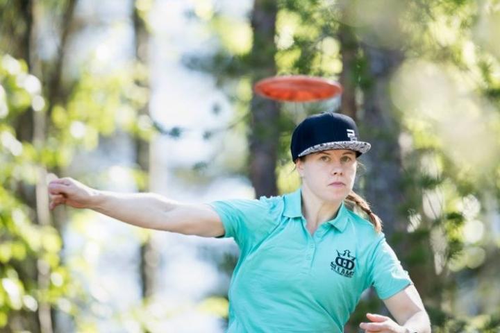 Naisten sarjan voittaja Heidi Laineen seuraava kilpailu on PRO-tourin Talin osakilpailu.