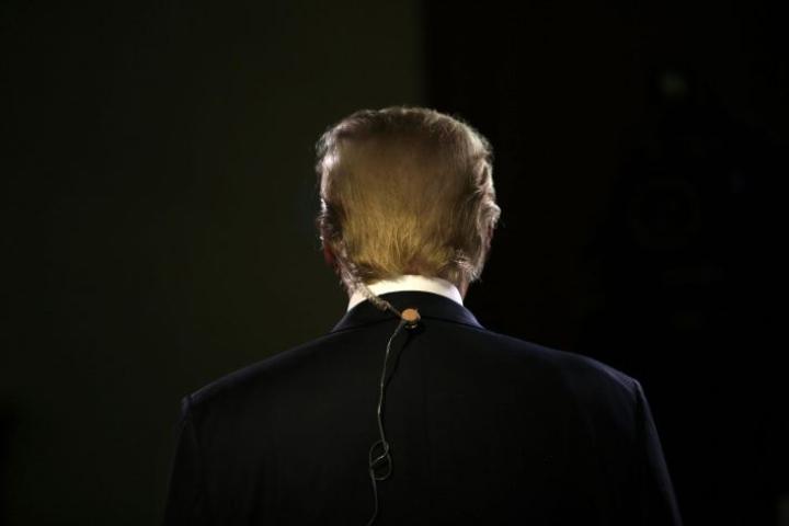 Twitter on useaan otteeseen merkinnyt Trumpin tviittien sisällön kiistanalaiseksi. LEHTIKUVA/AFP