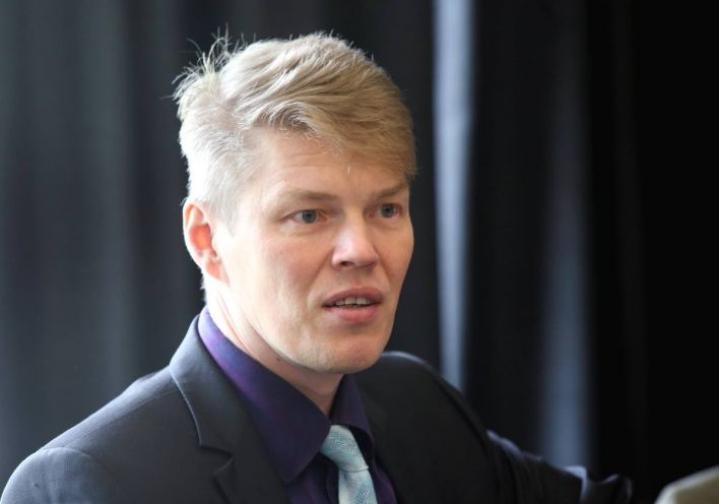 Lieksan kaupunginjohtaja Jarkko Määttänen.