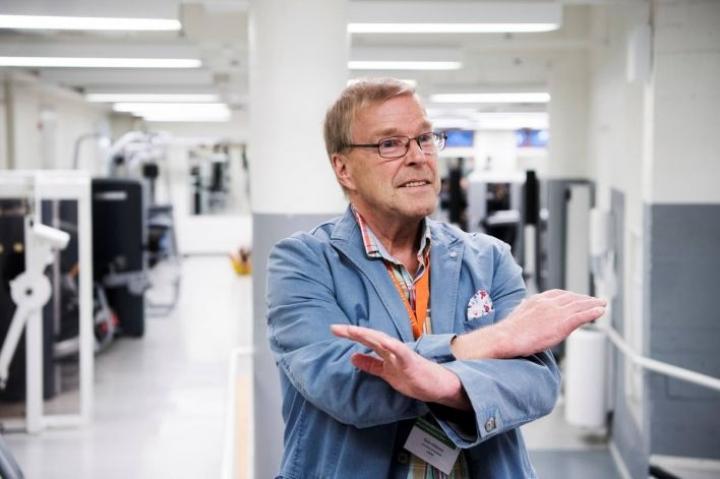 Professori Keijo Häkkinen.