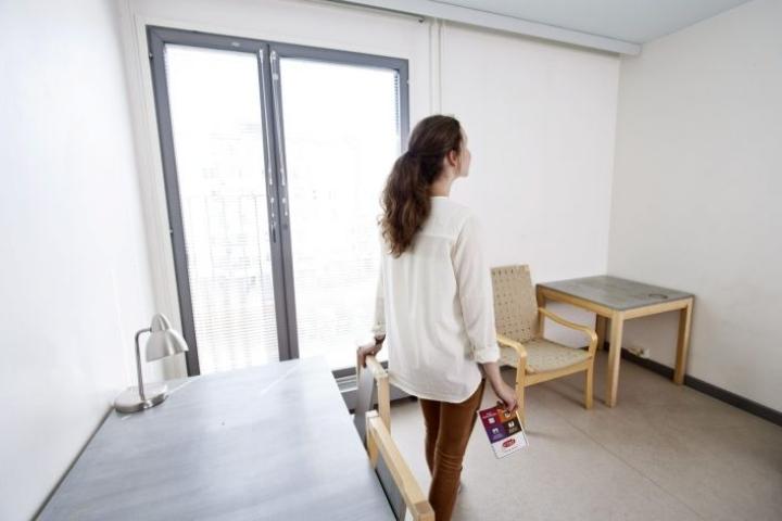 Opiskelijoiden keskimääräinen asumisen tuki nousi 196 eurosta 258 euroon kuukaudessa. Kuvituskuvaa. LEHTIKUVA / RONI REKOMAA