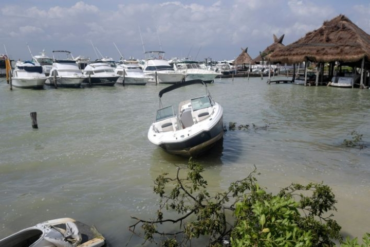 Delta koetteli aiemmin Meksikossa Jukatanin niemimaata. LEHTIKUVA/AFP