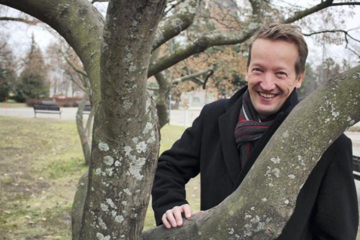 ENO-verkkokoulun Mika Vanhanen.