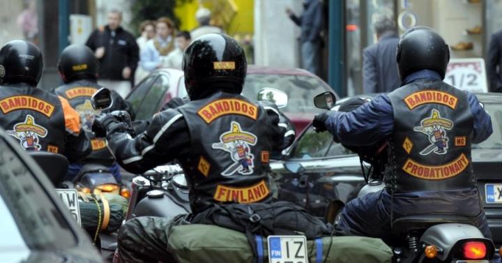 Moottoripyöräjengi Bandidos on yksi Suomen suurimmista liivijengeistä. LEHTIKUVA / Jussi Nukari