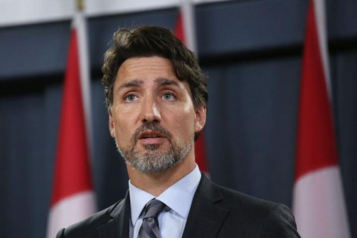 Kanadan pääministeri Justin Trudeau syytti osin jännitteiden kiristymisestä naapurimaa Yhdysvaltoja. LEHTIKUVA / AFP
