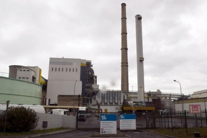 Fortum omistaa saksalaisesta energiayhtiöstä Uniperista 49,99 prosenttia. LEHTIKUVA/AFP
