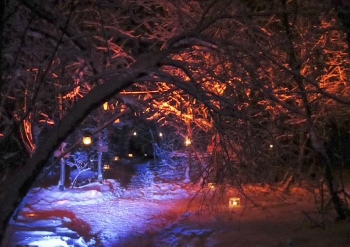 Honkavaaran joulupolulla avataan joulu itsenäisyyspäivän aattona.