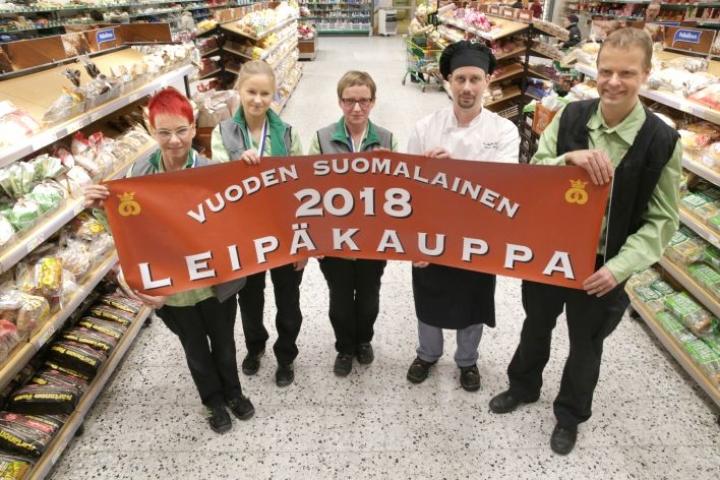 Viime vuonna Vuoden Leipäkaupaksi valittiin Joensuun Prisma.
