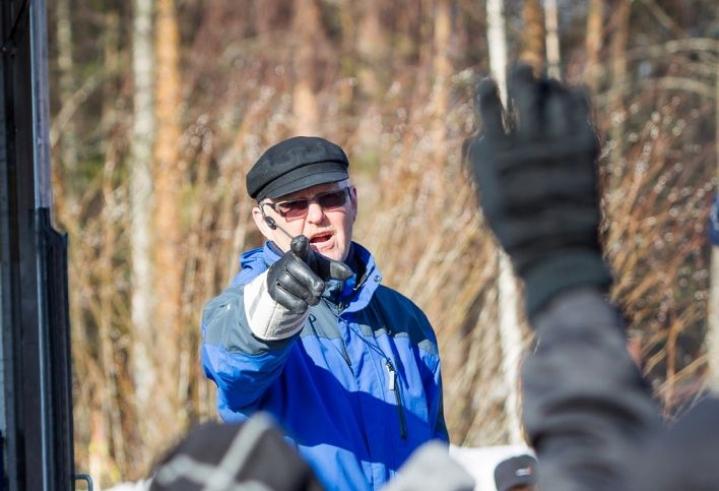 Matti Immonen arkistokuvassa vuonna 2017