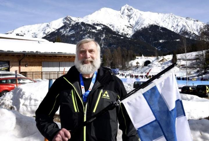 Seefeld on Miedolle, 69, tuttu paikka sekä kilpailuista että harjoitusmatkoilta. LEHTIKUVA / HEIKKI SAUKKOMAA