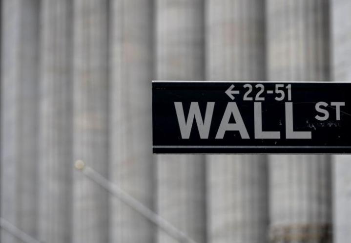 Yhdysvalloissa pörssikurssit ovat pompanneet nousuun Wall Streetillä. LEHTIKUVA / AFP