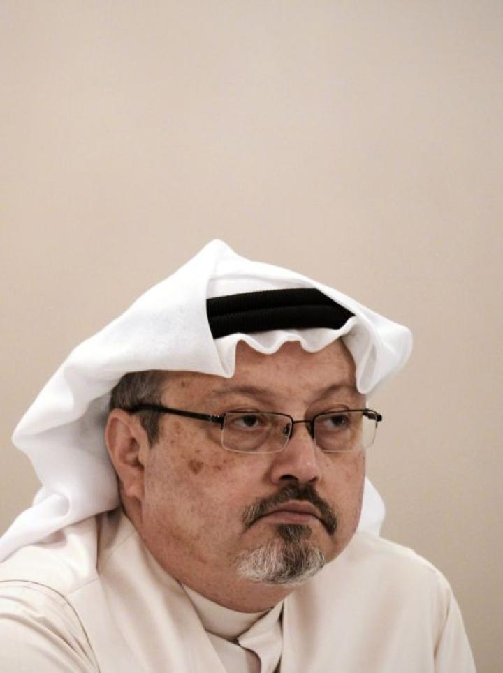 Toimittaja Jamal Khashogg on kirjoittanut kriittisesti Saudi-Arabian hallinnosta. LEHTIKUVA / AFP
