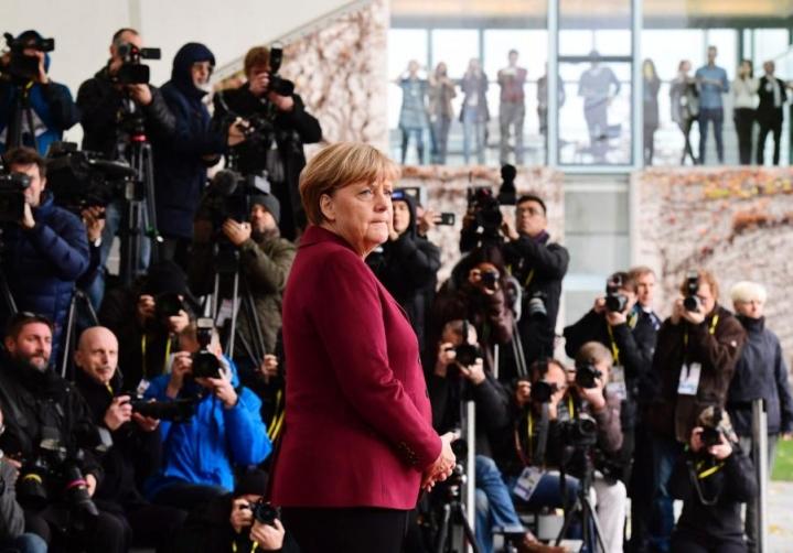 Angela Merkel on johtanut Saksaa vuodesta 2005. LEHTIKUVA/AFP