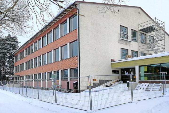 Educa-rakennusta remontoidaan, että Savolinnasta Joensuuhun siirtyville koulutuksille saadaan niiden käyttöön sopivat tilat.