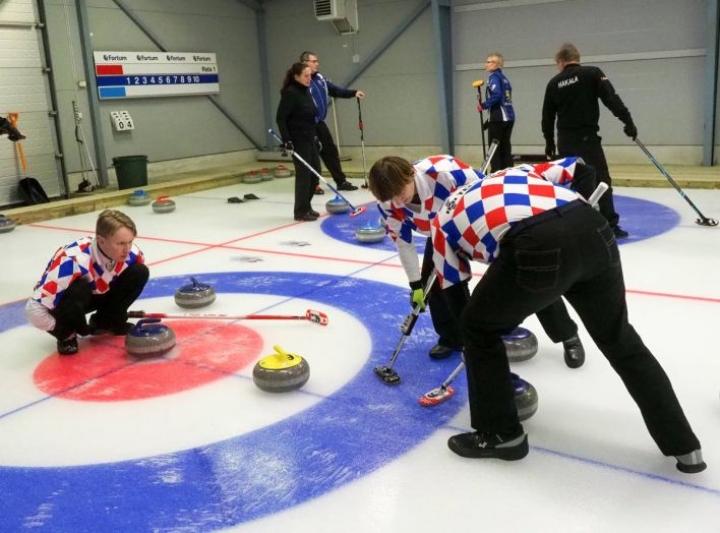Markus Sipilän joukkue saavutti SM-kultaa kaksi vuotta sitten Joensuussa ja on jälleen suosikki tulevana viikonloppuna.