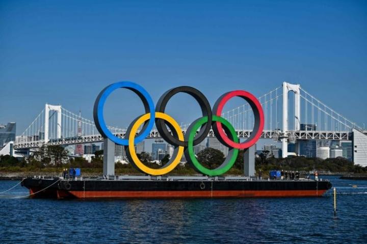 Tokion olympialaiset piti järjestää jo viime vuonna, mutta uusi yritys on 23. heinäkuuta–8. elokuuta. LEHTIKUVA/AFP