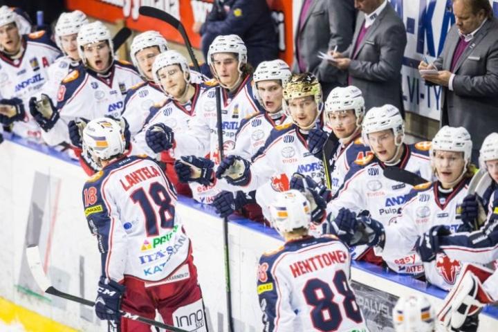 SaPKo aloitti nousun Mehtimäellä Mikko Lahtelan maalilla.