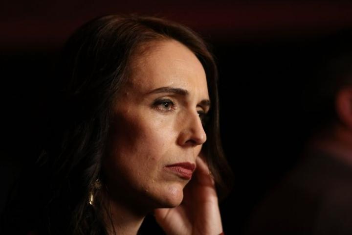 Uuden-Seelannin pääministeri Jacinda Ardern kertoi tukeneensa molempia aloitteita kansanäänestyksessä, mutta ei kuitenkaan kampanjoinut erityisesti etenkään kannabiksen laillistamisen puolesta. LEHTIKUVA/AFP
