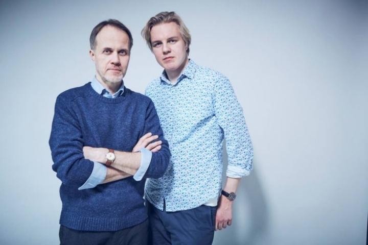 Petri Tamminen ja Antti Rönkä ovat isä ja poika mutta myös mestari ja kisälli, mitä kirjoittamiseen tulee.