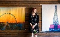 Taitokorttelin kesänäyttely esittelee kiskojen kirskuntaa ja öljyisiä nostureita