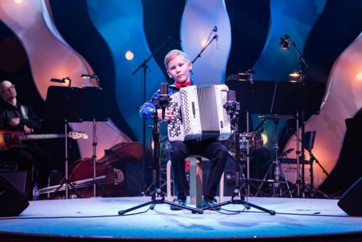 Daniel Ullgren soitti finaalissa myös keväällä 2017.