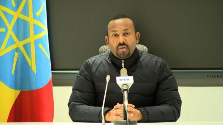 Etiopian pääministeri Abiy Ahmed vaihtoi armeijan johdon, ulkoministerin ja liittovaltion poliisin johtajan. Lehtikuva/AFP