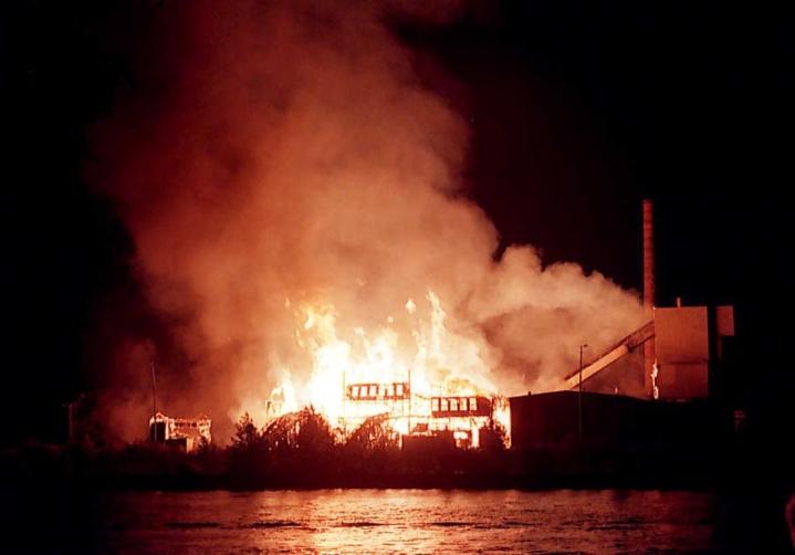 Penttilän saha paloi nuorten huolimattoman tulenkäsittelyn seurauksena.
