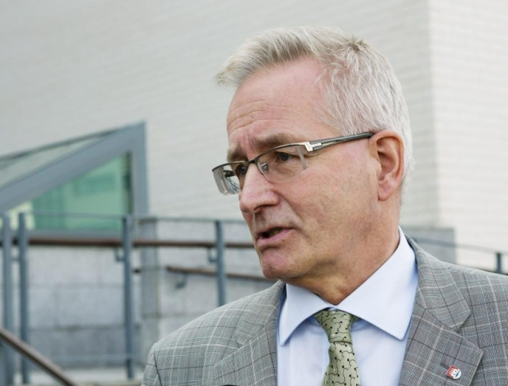 Oulun kaupunginjohtaja Matti Pennanen. Kuva on vuodelta 2013. LEHTIKUVA / ALEKSI MAKKONEN